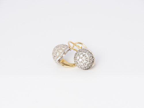 Női arany fülbevaló (14K)