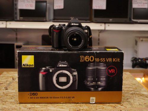 Nikon D60 dslr fényképezőgép