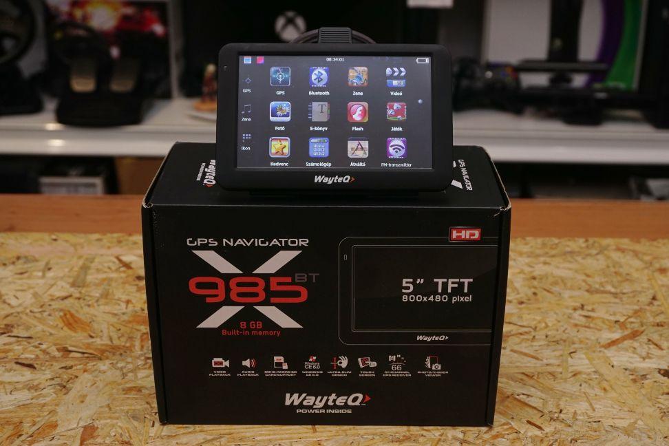 Wayteq 985BT GPS